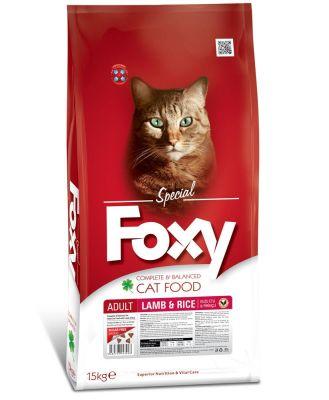 Foxy - Foxy Kuzu Etli Yetişkin Kedi Maması 15 Kg
