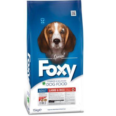 Foxy - Foxy Kuzu Etli Yetişkin Köpek Maması 15 Kg