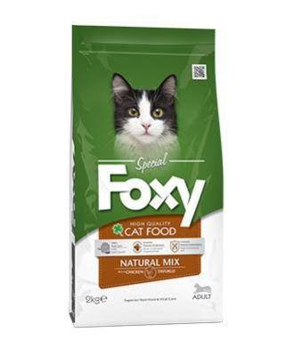 Foxy - Foxy Natural Mix Yetişkin Kedi Maması 2 Kg