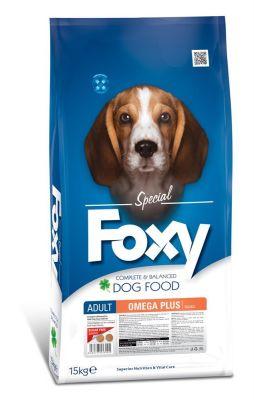 Foxy - Foxy Omega Plus Balıklı Yetişkin Köpek Maması 15 Kg