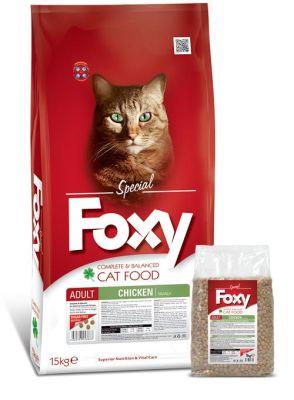 Foxy - Foxy Tavuk Etli Yetişkin Kedi Maması 15 Kg