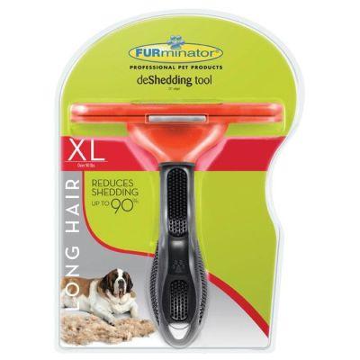 - Furminator Dev Irk Uzun Tüylü Köpekler için XL Tarak