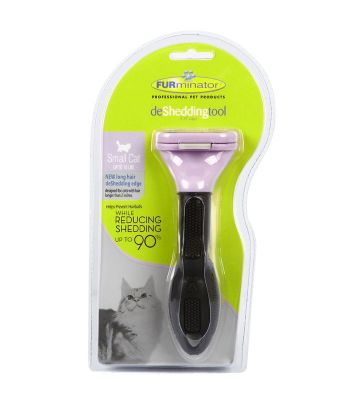 Furminator - Furminator Longhair Cat Uzun Tüylü Kediler İçin Tarak SMALL