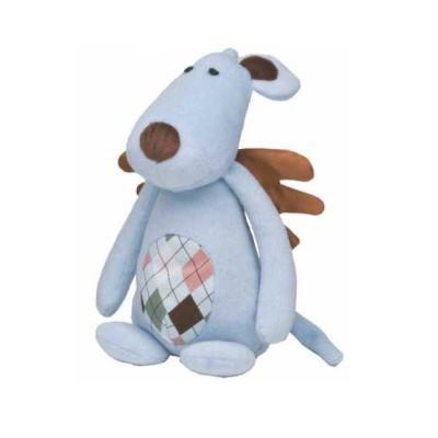 Gimborn - Gimborn Peluş Mavi Sesli Köpek Oyuncağı 25cm