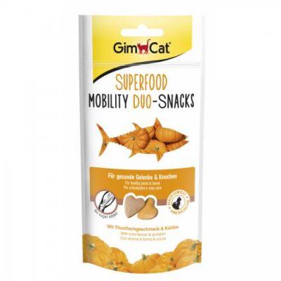 Gimcat - Gimcat Dental Duo Tuna Balıklı ve Kabaklı Kedi Ödülü 40Gr