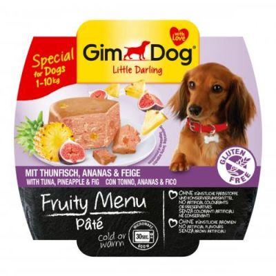 Gimdog - Gimdog Fruity Tuna Ananas İncirli Köpek Konserve 100gr