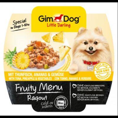 Gimdog - Gimdog Fruity Tuna Ananas Sebzeli Köpek Konservesi 100gr