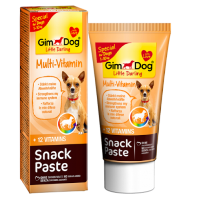 Gimdog - Gimdog Little Darling Snack Paste Multivitamin 50gr