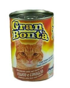 Gran Bonta - Gran Bonta Ciğerli ve Tavşanlı Kedi Konservesi 400 gr