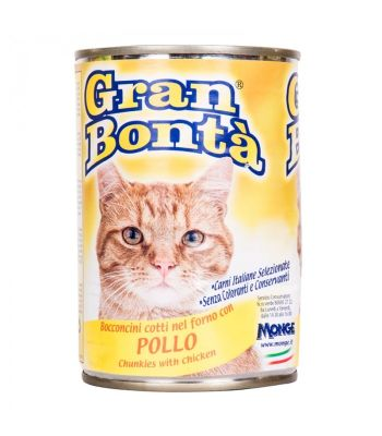 Gran Bonta - Gran Bonta Tavuklu Kedi Konservesi 400 gr