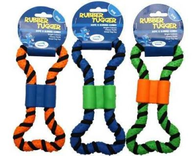 Happy Pet - Happy Pet 0163 Rubber Tugger Small 19x5,5cm