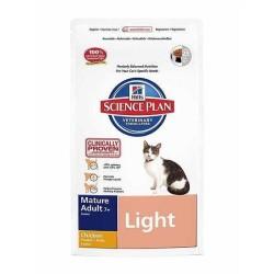 - Hills Mature Adult Light Tavuklu Yaşlı Kedi Maması 1,5 Kg