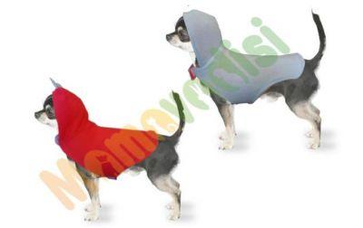 - Kapüşonlu Çift Taraflı Köpek Kıyafeti Pembe Mavi