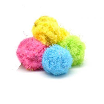 Catit - Karışık Renkli Yuvarlak Oyuncak 4 Cm
