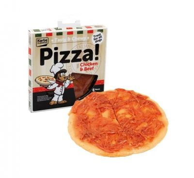 Karlie - Karlie Flamingo Etli ve Tavukklu Pizza 15 Cm 170 Gr