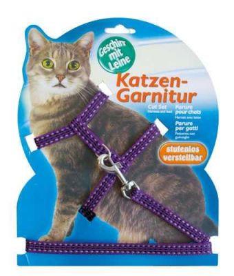 Diğer - Katzen Kedi Göğüs Tasması Reflektörlü