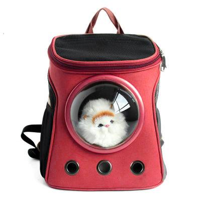 Diğer - Kedi Ve Köpekler İçin Astronot Sırt Taşıma Çantası
