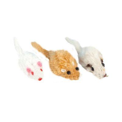 Catit - Kediler İçin Pastel Renkte Fare Oyuncak 5 cm