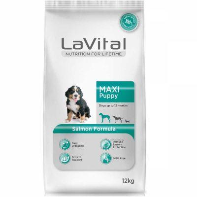 La Vital - La Vital Somonlu Maxi Yavru Köpek Maması 12 Kg