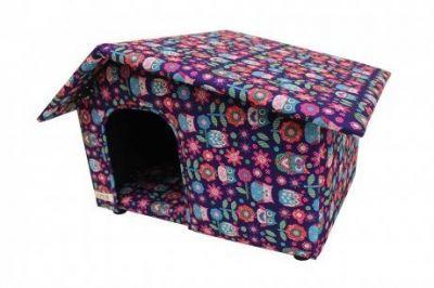 Diğer - Lepus Yatay Çatılı Köpek Kulübesi 40 x 65 x 45 cm