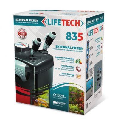 Lifetech - LIFETECH 835 DIŞ FİLTRE SİYAH KOVA DOLU 1000 L/h