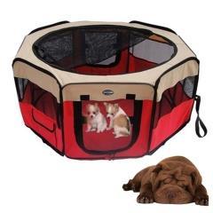 Lion - Lion Kedi Köpek Oyun Park Alanı 155 Cm Kırmızı