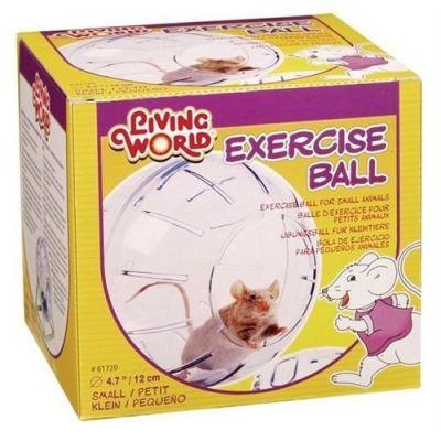 LIVING WORLD - Liwing World Hamster Topu Standlı 12 Cm