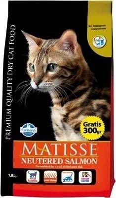 Matisse - Matisse Kısırlaştırılmış Somonlu Yetişkin Kedi Mamasi 1,5 Kg