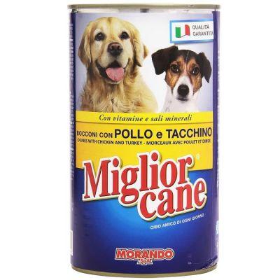 - Miglior Cane Tavuklu ve Hindili Köpek Konserve Maması 1250Gr