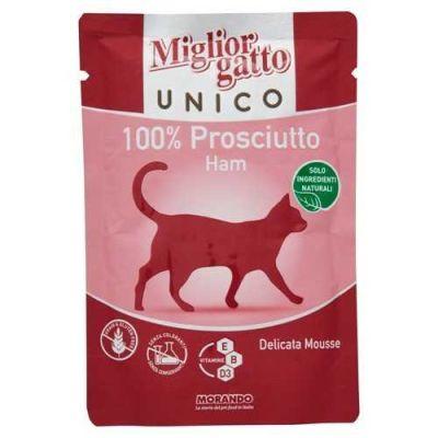 Miglior Gatto - Miglior Gatto Unico Jambonlu Kedi Konservesi 85 Gr