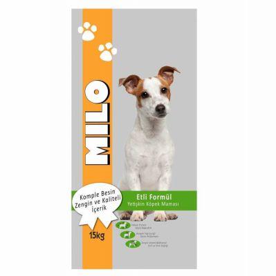 Diğer - Milo Kuzu Etli ve Pirinçli Yetişkin Köpek Maması 15kg