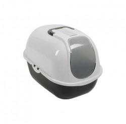Moderna - Moderna Smart Comfy Kapalı Kedi Tuvaleti 53 Cm Gri