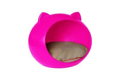 Diğer - Moony Kulaklı Kedi Evi Pembe