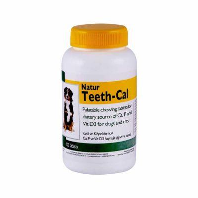 - Natur Teeth-Cal Köpek Vitamin Tablet 100 Tablet