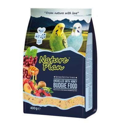 - Nature Plan Ballı Meyveli Kabuksuz Muhabbet Kuş Yemi 400 gr