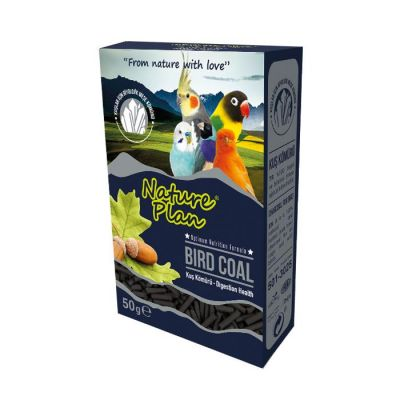 Nature Plan - Nature Plan Bird Coal Kuş Kömürü 50 g