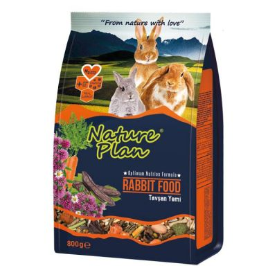 Nature Plan - Nature Plan Tavşan Yemi 800 g