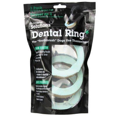 - Omega Paw Dental Ring Diş Temizleyici Ödül 10cm 3 lü