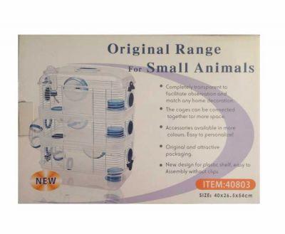 Diğer - Original Range 3 Katlı Hamster Kafesi 40x26x54 cm