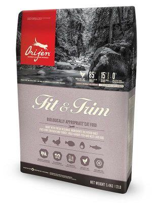 Orijen - Orijen Fit&Trim Kilo Problemi İçin Tahılsız Kedi Maması 5.4 Kg