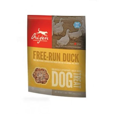 Orijen - Orijen Freeze Dried Köpek Ödülü Free Run Duck 100 gr