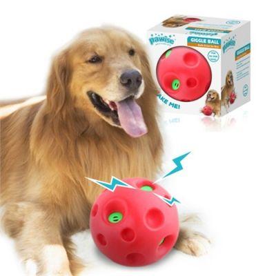 Pawise - Pawise Köpekler İçin Shake Me Giggle Ball Sesli Top Oyuncak