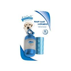 Pawise - Pawise Poop Bags Dispenser Yedekli Dışkı Toplama Seti