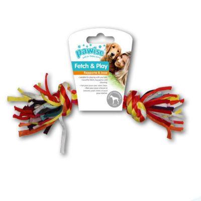 - Pawise Renkli Düğümlü İp Kemik 22 Cm