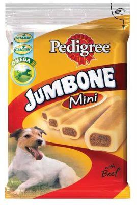 Pedigree - PediGree Jumbone Mini Biftekli Köpek Ödülü 180 Gr