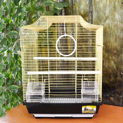 QH PET CAGE - Pet Cage Düz Çatılı Kafes 34,5x28x45,5 cm