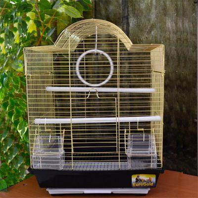QH PET CAGE - Pet Cage Pirinç Kuş Kafesi 34,5x28x45,5 cm