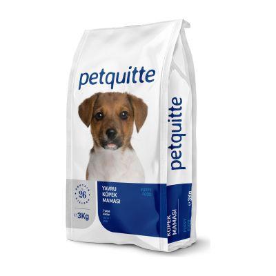 - Petquitte Etli Yavru Köpek Maması 3 Kg