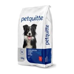 - Petquitte Kuzu Etli Küçük ve Orta Irk Yetişkin Köpek Maması 3 Kg