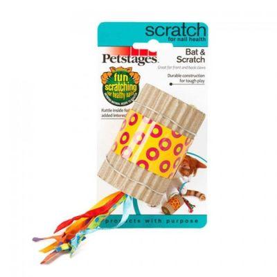 - Petstages Bat & Scratch Zilli Tırmalama Kedi Oyuncağı